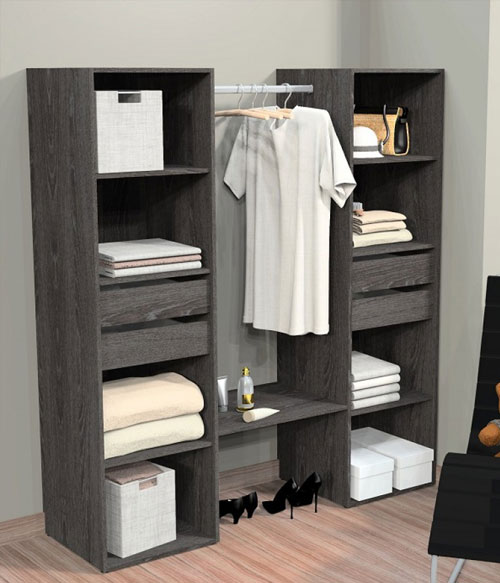 hauteur penderie dressing dressing volutif extenso lgance sogal with hauteur penderie dressing. Black Bedroom Furniture Sets. Home Design Ideas