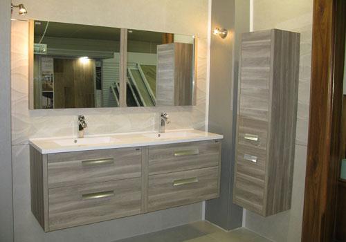 meuble salle de bain complète double vasque