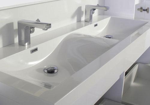 changer ses meubles de salle de bain : fourniture et pose de vasque