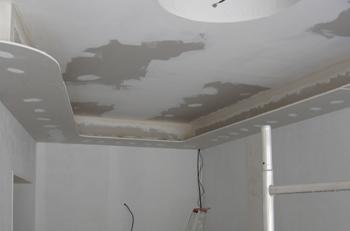 Refaire plafond interesting une dco de chambre au look for Refaire faux plafond